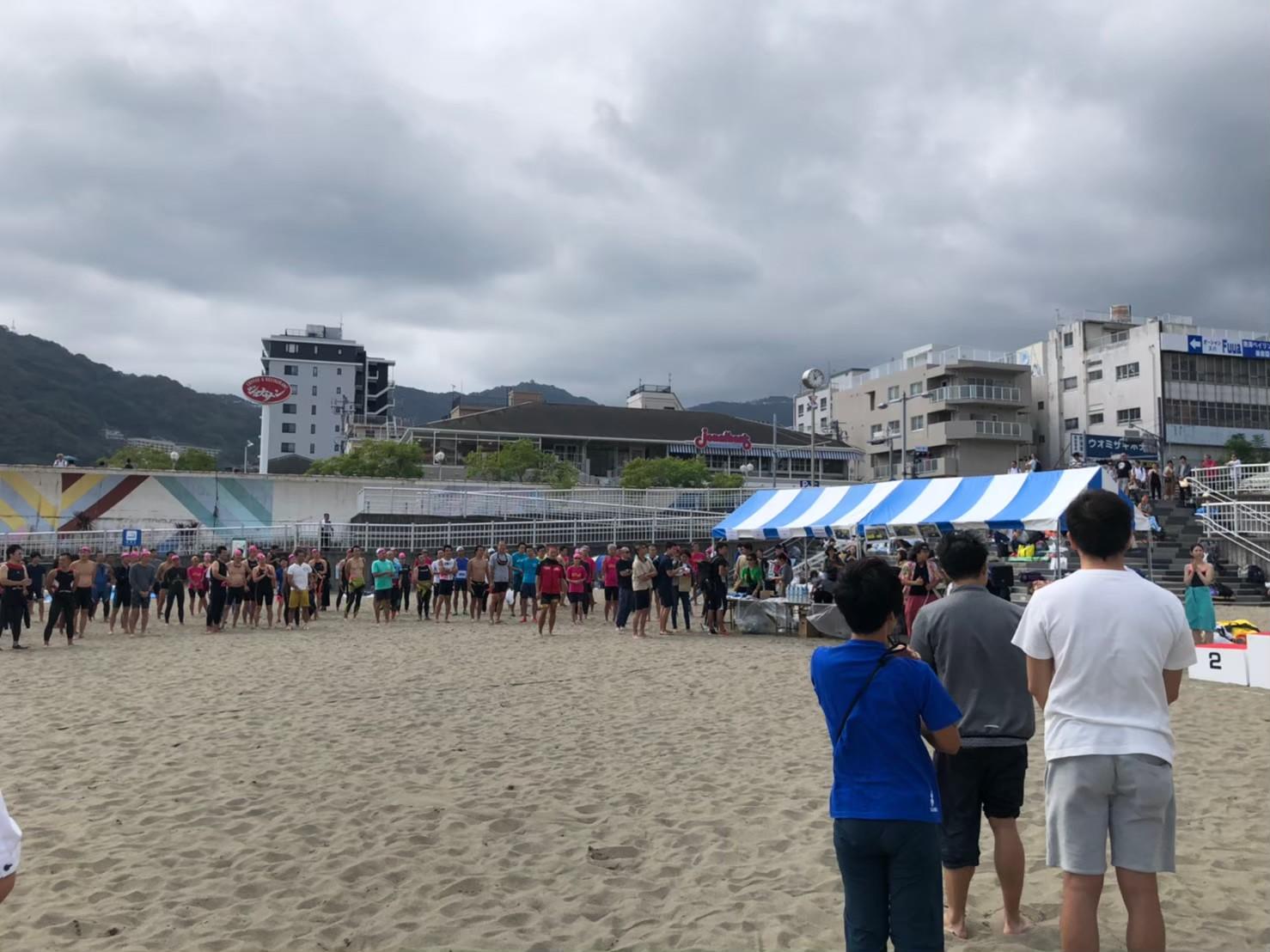 熱海サンビーチ・ アクアスロン大会